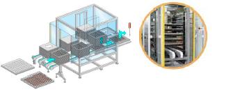 SPM Модуль складирования для лотков с крышками
