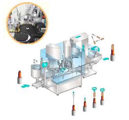 Модуль для дозировки и укупорки Groninger MFCS-R